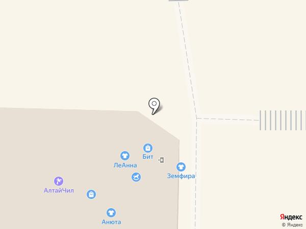 Ninelle на карте Горно-Алтайска