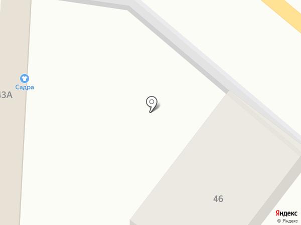 Сандра на карте Горно-Алтайска