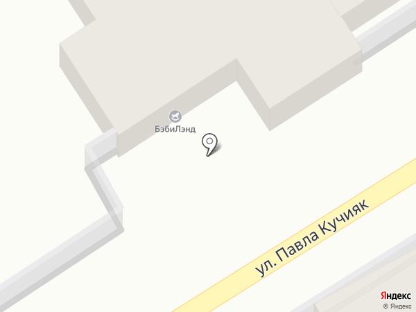 БэбиЛэнд на карте Горно-Алтайска