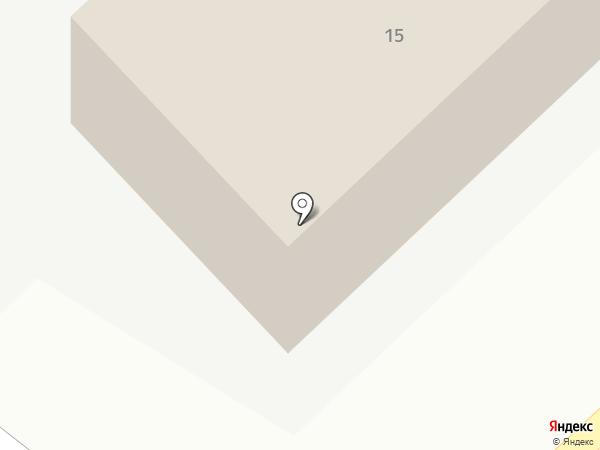 Бочонок на карте Кемерово