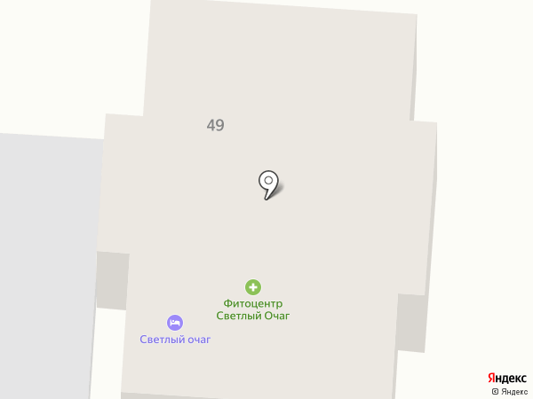 Светлый Очаг на карте Элекмонара