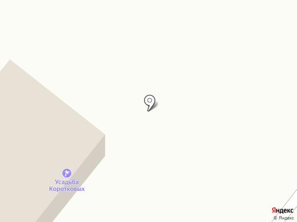 Усадьба Коротковых на карте Чемала