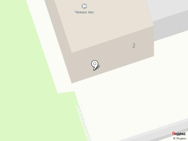 Чемал Лес на карте Чемала