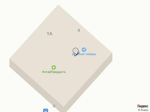 Автовокзал на карте Чемала