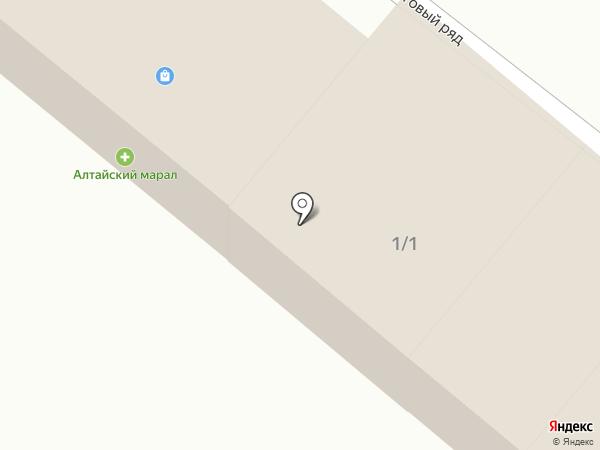 Магазин хозяйственных товаров на карте Чемала