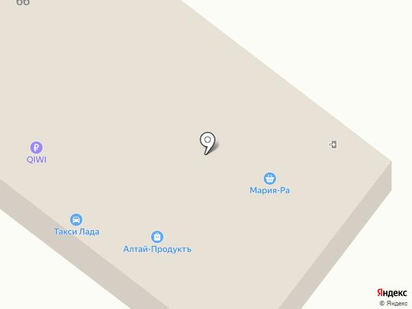 Мария-Ра на карте Чемала