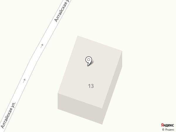 Усадьба на Алтайской на карте Чемала