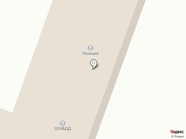 Участковый пункт полиции на карте Чемала