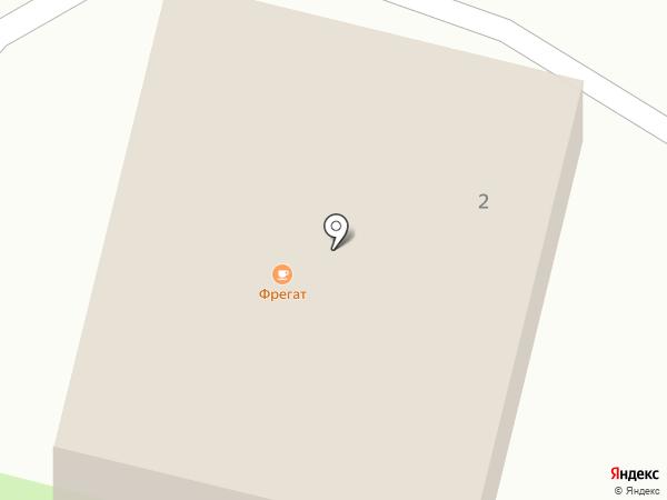Фрегат на карте Чемала