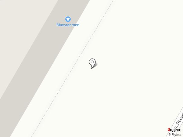 Анкер на карте Кемерово