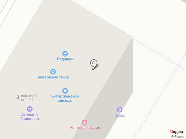 Торгово-монтажная компания на карте Кемерово