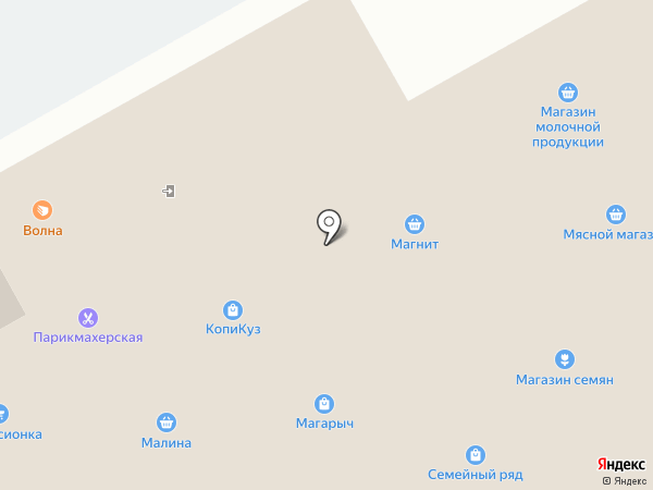 Волна на карте Кемерово