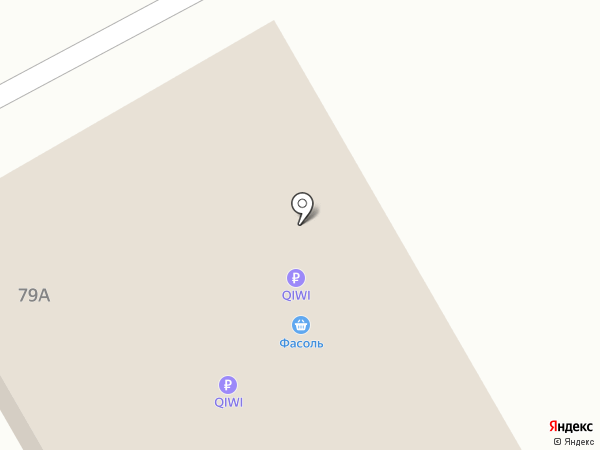 Продуктовый магазин на карте Кемерово
