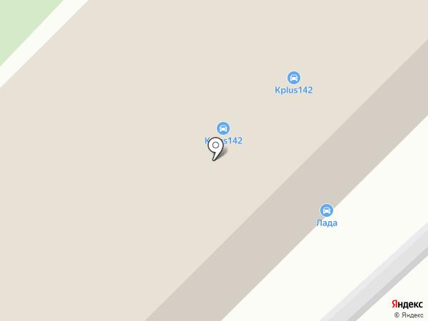 Кристалл Plus на карте Кемерово