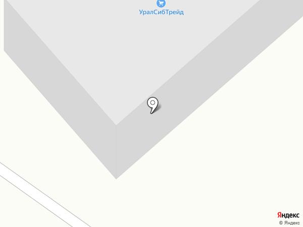 Компания Промсбыт на карте Кемерово