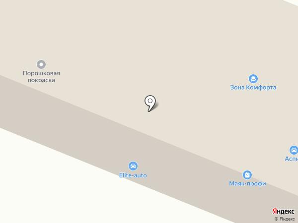 МАЯК на карте Кемерово