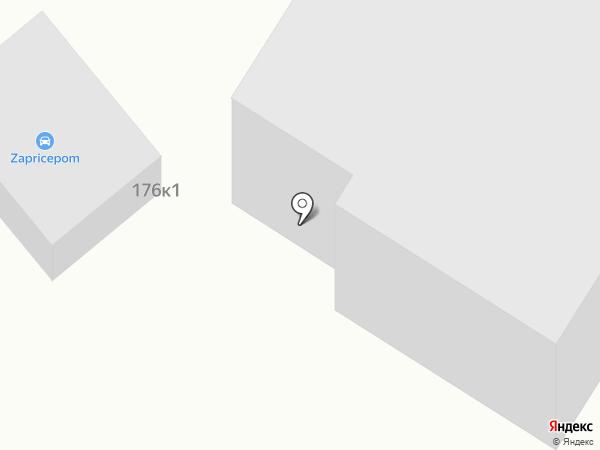 Блеск на карте Кемерово