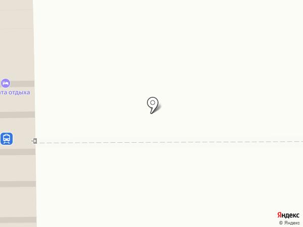 Гостиница на карте Кемерово