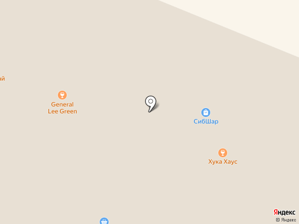 Хука Хаус & Брутальность на карте Кемерово