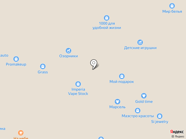 Ливерпуль на карте Кемерово