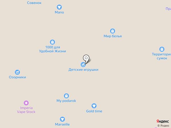 Глазки на карте Кемерово
