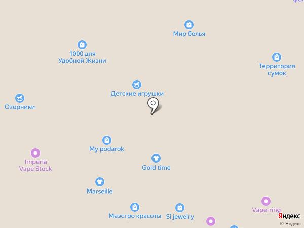 GOLD TIME на карте Кемерово