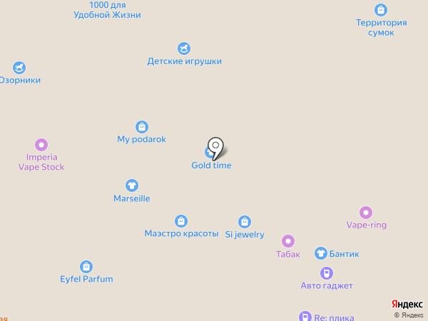 InPost на карте Кемерово