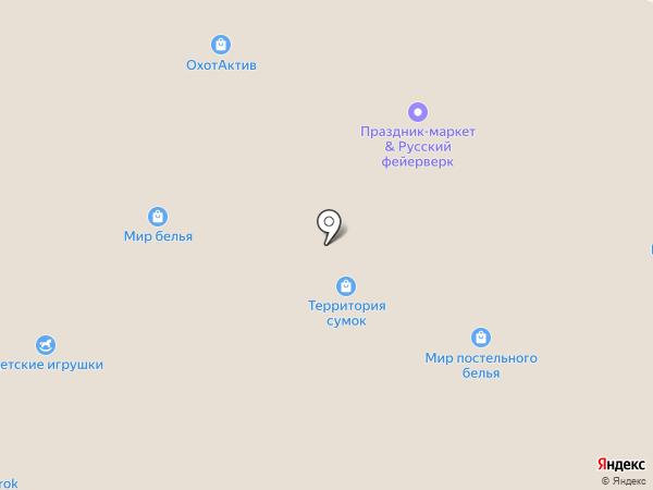 ТЕРРИТОРИЯ на карте Кемерово