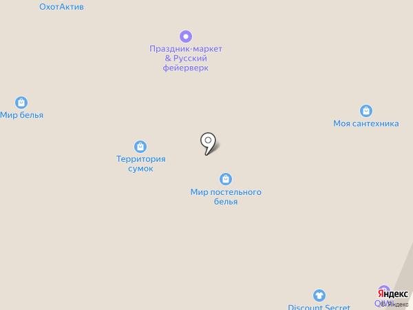Русский фейерверк на карте Кемерово