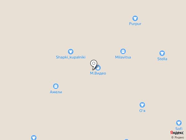 Амели на карте Кемерово