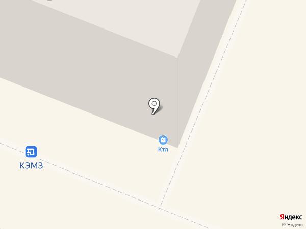 Тортуга на карте Кемерово