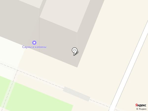 Дома Руси на карте Кемерово