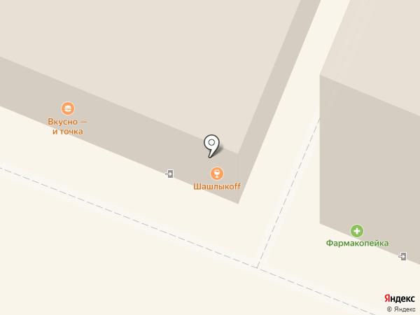 McDonald`s на карте Кемерово
