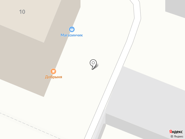 Добрыня на карте Кемерово
