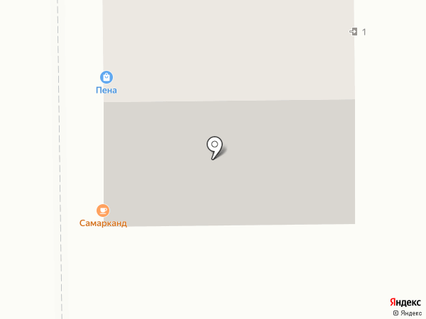 Пена на карте Кемерово
