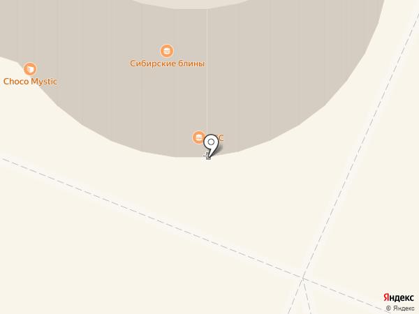 KFC на карте Кемерово