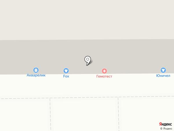 Fox на карте Кемерово
