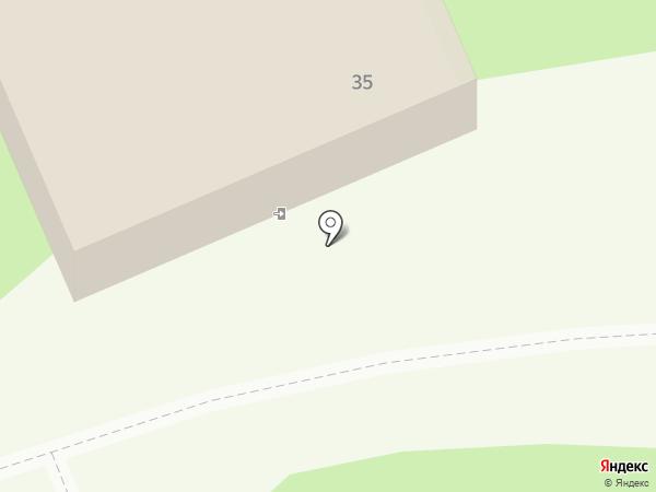 Силуэт на карте Кемерово