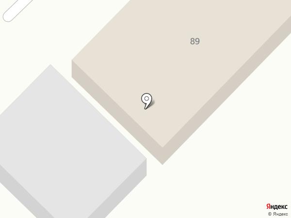 СТО на Южном на карте Кемерово