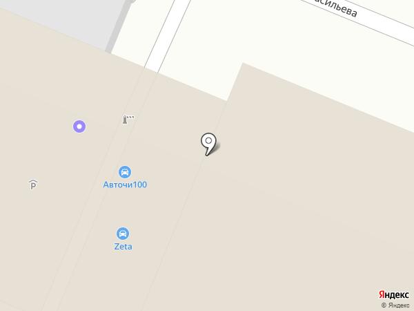 ZETA на карте Кемерово