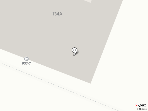 РЭУ №7 на карте Кемерово