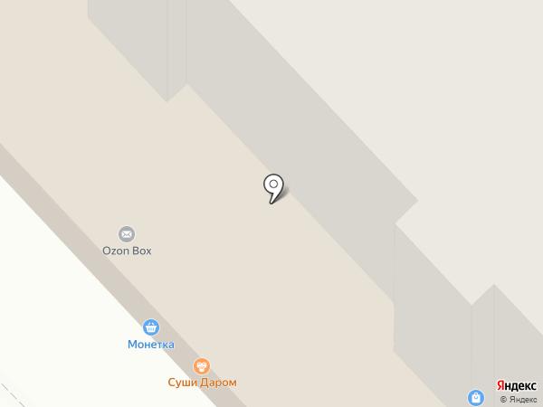 РОСЦВЕТТОРГ на карте Кемерово