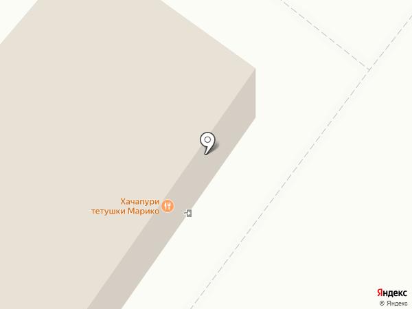 Монолит на карте Кемерово