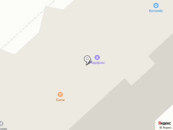 Парикмахерская на карте Кемерово
