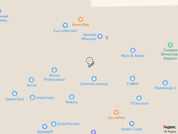 ПАРАЛИНЗ на карте Кемерово