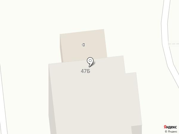 Автодрайв на карте Бачатского