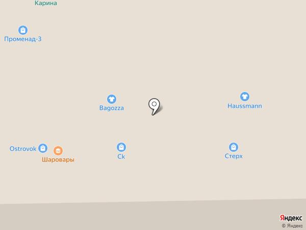 Green Coast на карте Кемерово