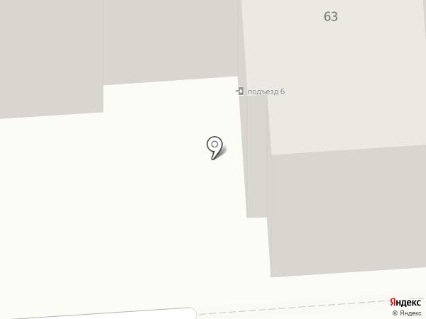 Достаф на карте Бачатского