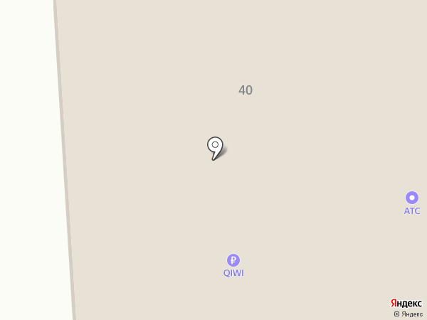 КСУ на карте Бачатского