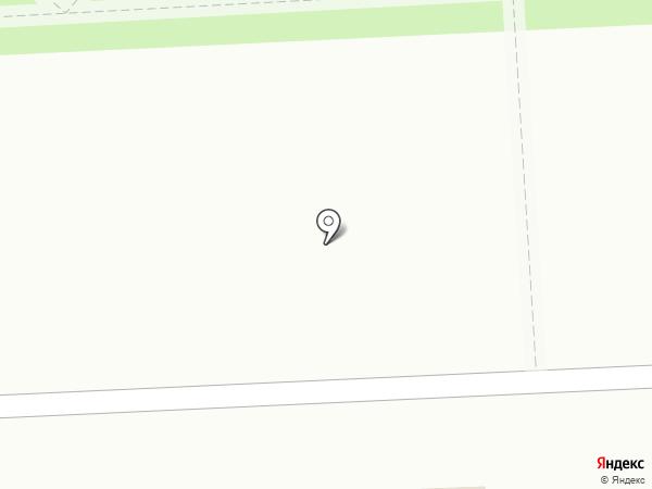 Пышка на карте Бачатского